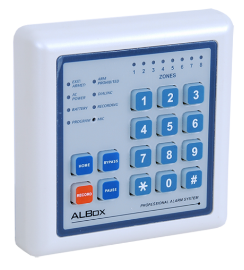 Remote Control Keypad for ACP811A (RCK800A)