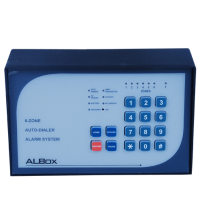 6-Zone Alarm Control Panel with Power Supply 2A (ACP611)