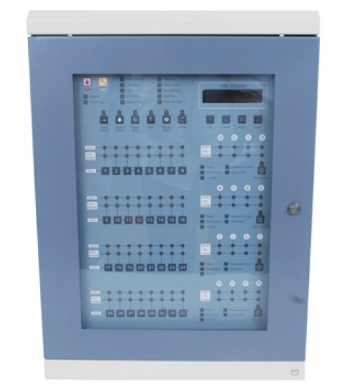 24-Zone Fire Alarm Control Panel (FA60024)